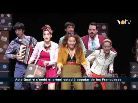 VOTV - Acte Quatre s'endú el premi votació popular de les Franqueses