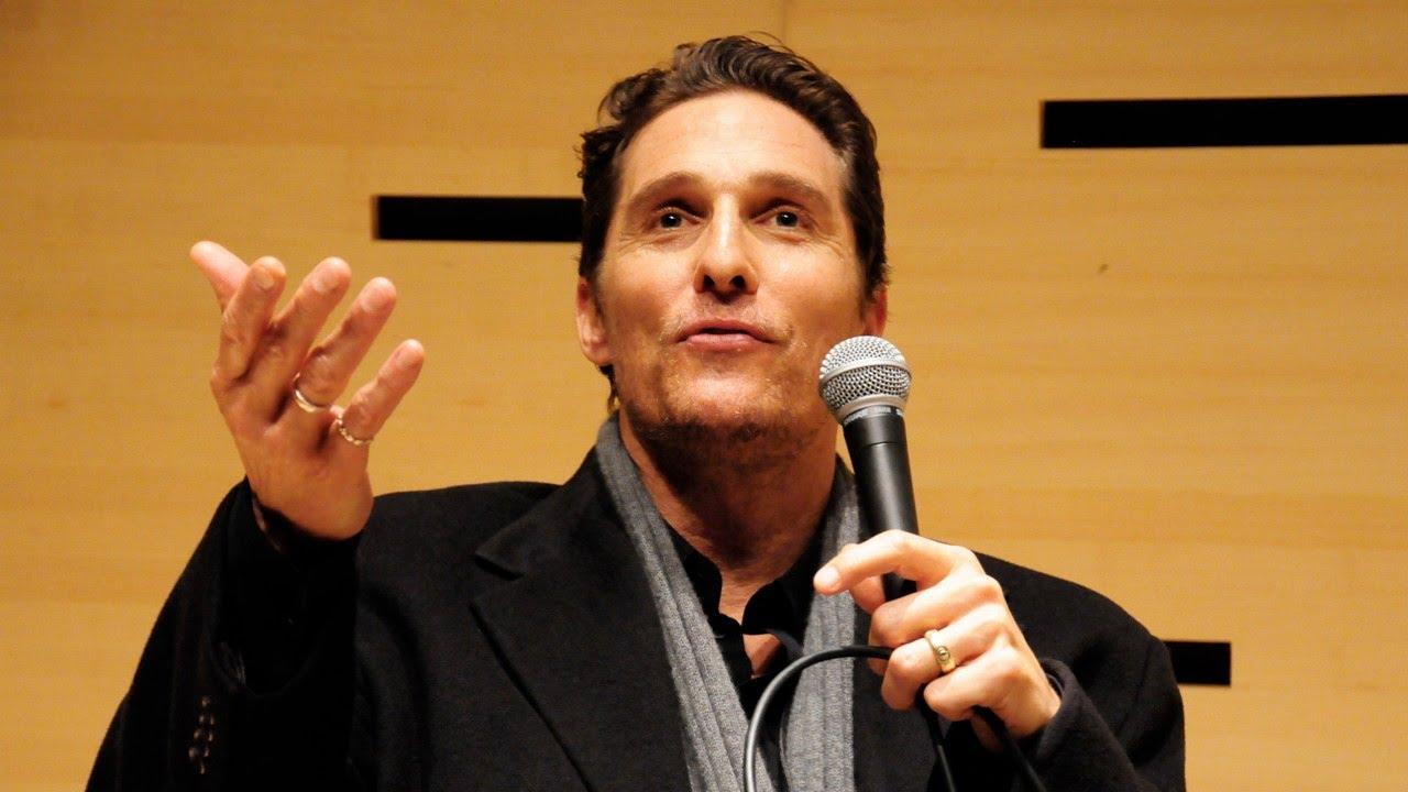 Matthew McConaughey On His Process