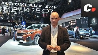 Peugeot 3008 / 5008  SUV | Salón de París 2016 | Mondial de l'Automobile | coches.net