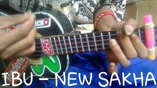 IBU - NEW SAKHA - COVER UKULELE BY ALVIN