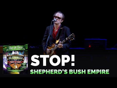 """Joe Bonamassa """"Stop!"""" Tour De Force Live at Shepherd's Bush Empire"""