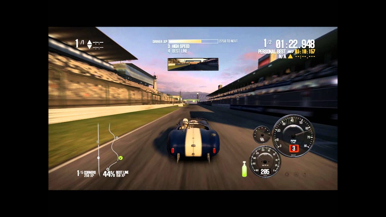 Need For Speed Shift 2 - SHELBY COBRA - top speed 262 Km/h / 163 Mp ...