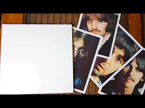 The Beatles - The Beatles (The White Album) - Vinyl Collection unboxing