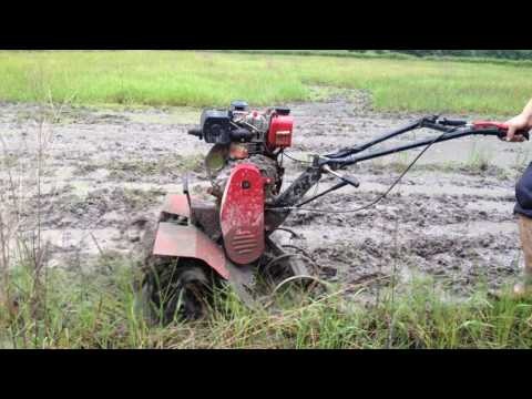 power tiller Four-wheel drive gear transmission