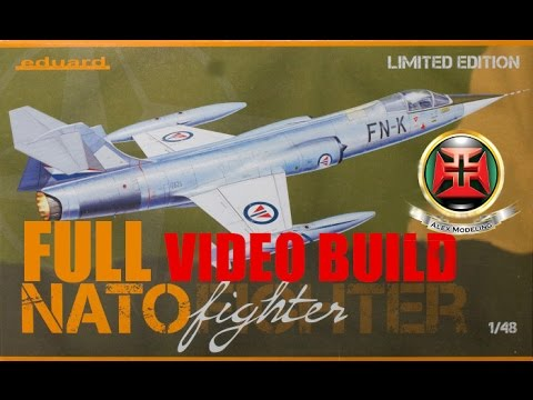 FULL BUILD Eduard 1/48 F-104 Limited edition