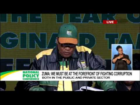 President Zuma opens the 5th ANC National Policy Conference