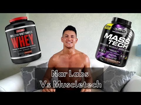 Nar Labs Protein Powder Review - Muscle Tech Protein Powder Review - Protein Shake Recipe Review