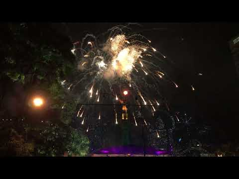 New Year Celebration 2018 | El Angel de la Independencia | Reforma | Mexico City