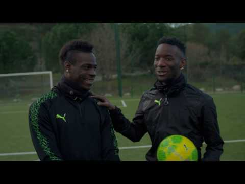 PUMA Football | Mario Balotelli evoPOWER Vigor Challenge #PlayLOUD