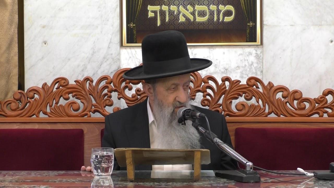 הרב בן ציון מוצפי בנושא הכנות רוחניות וגשמיות לשבת