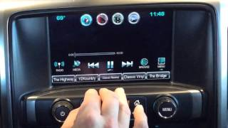 How To Play Videos On Chevy MYLINK - 2014 to 2016