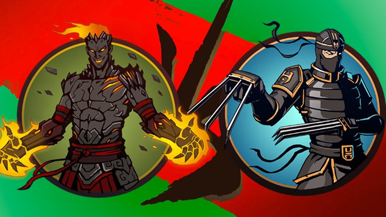 Shadow Fight 2 Бой с тенью #5 ВУЛКАН, РЫСЬ, Щеголь, Стервятник, Бархат, Разбойник, Изверг Акт 2 #KID