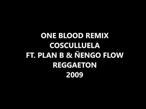 ONE BLOOD REMIX COSCULLUELA FT.  PLAN B & ÑENGO FLOW REGGAETON 2009 || Descarga Mega ||