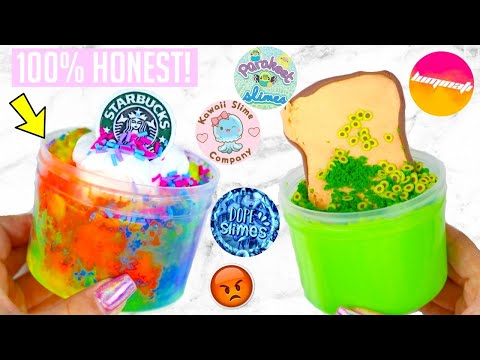 100% HONEST Famous Slime Shop Review + AIRPODS GIVEAWAY!