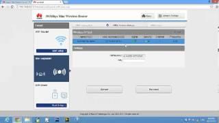 أعدادات ربيتر وراوتر هواوي HUAWEI Media Router Ws 322
