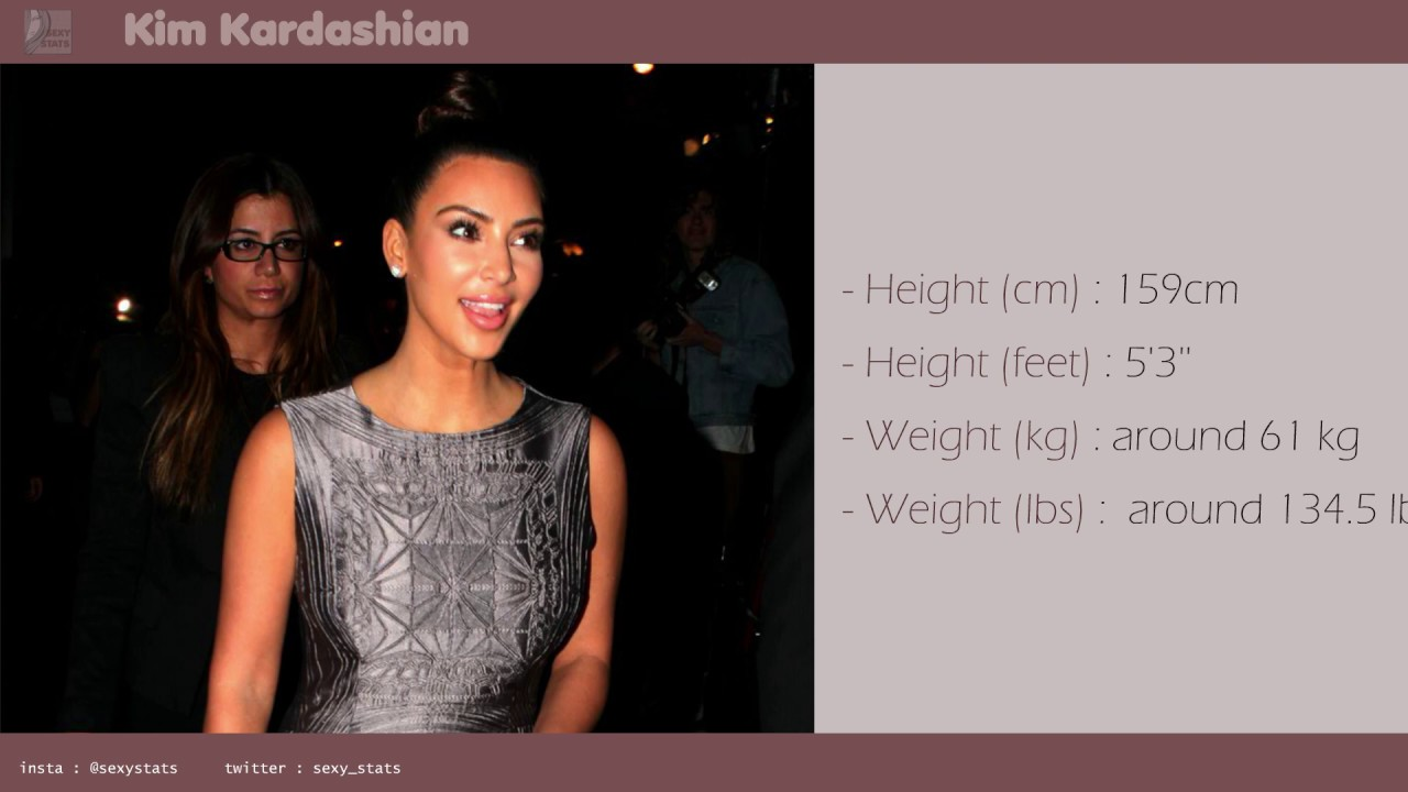 Kim Kardashian Measurements Boobs Height Weight And More With Nice Pictures Youtube