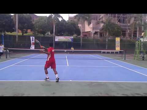 Kejurnas Soft Tennis.Piala Walikota Balikpapan 7-11 2016 Tunggal Putra Kaltim. Vs .Dki