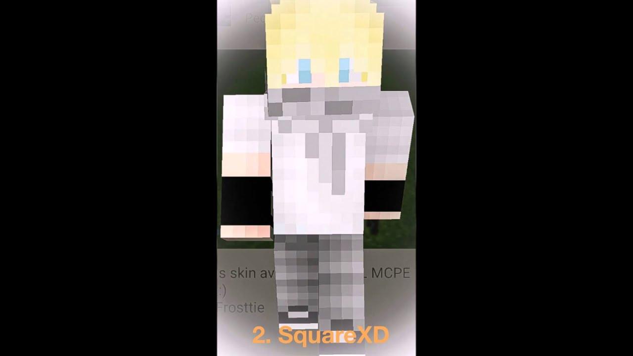Skin De Hombres Para Minecraft Pe YouTube - Skin para minecraft pe de hombre