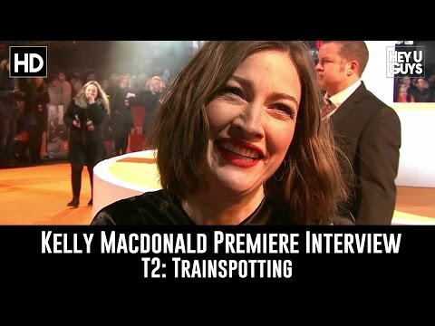 Kelly Macdonald Premiere   T2: Trainspotting