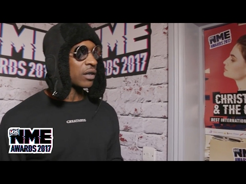 "Skepta calls Stormzy a ""blessing to earth"" @ VO5 NME Awards 2017"