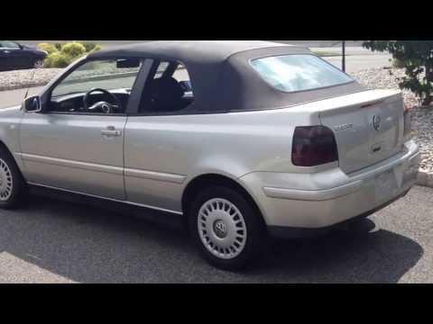 2000 Volkswagen Cabrio Convertible