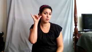 Learn ASL in 31 Days: Day 3 :: Time