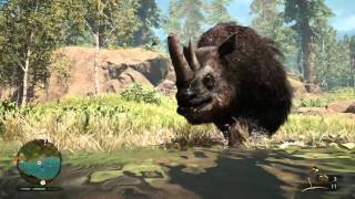 Far Cry® Primal|Messing with Wolly Mammoths/Rhinos