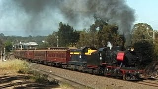 Steam Train on the North East - J515 to Violet Town 8 Nov 2003: Australian Trains