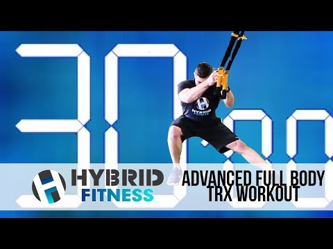 30 Minute Advanced Full Body TRX Workout   Fat Blaster!