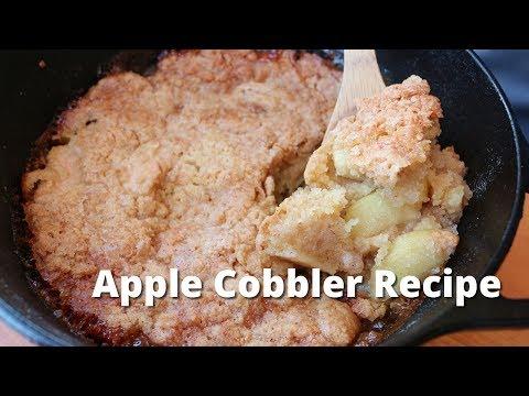 Apple Cobbler Recipe - Easy Apple Cobbler on Smoker