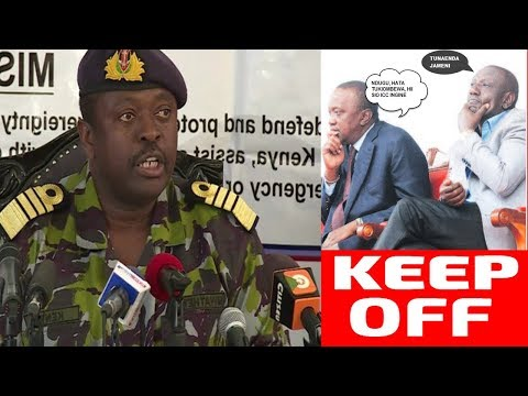 Kenya Election and Military: Ngatia Lectures Generals on What to Do