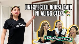 House Raid ni Aling Cely + Unboxing ng iPhone 11 Pro Max ni Badong | VLOG TAKE-OVER NA ITUUU!!!