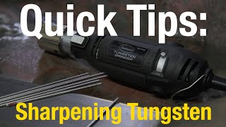 Quick Tips: Tungsten + TIG Welding with Eastwood!