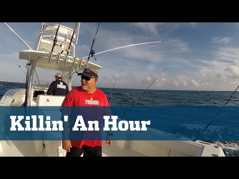 Blackfin Tuna Trolling Footbals Lures Tackle Tips - Florida Sport Fishing TV