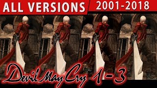 Devil May Cry 1-3 All Versions Compared (2001-2018, Original, SE, HD etc.)