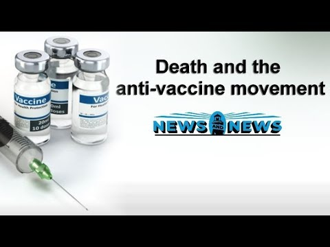 Death And The Anti-Vaccine Movement
