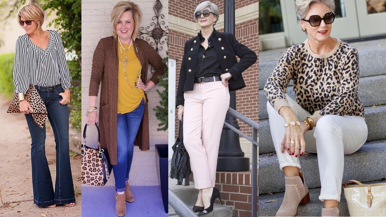 Moda para mujeres de 45 años 2019