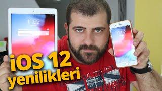 iOS 12 ÖZELLİKLERİNE İLK BAKIŞ ! Hem ölçü programıyla hem de metreyle ölçtük!