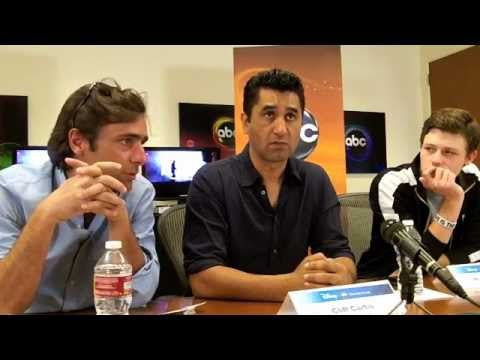 "The Men of ""Missing"" - Adriano Giannini, Cliff Curtis, Nick Eversman"