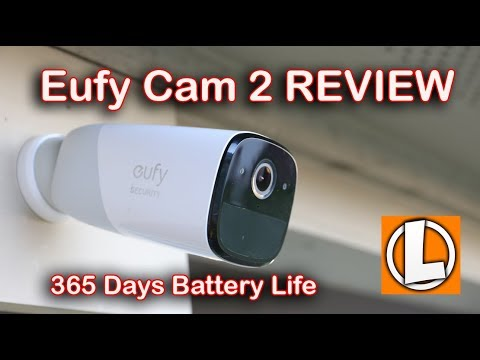 EufyCam 2 Review - Wireless WiFi Security Camera - Unboxing, Features, Settings, Video Quality