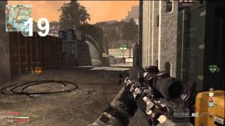 First MW3 Sniper Nuke (M.O.A.B)