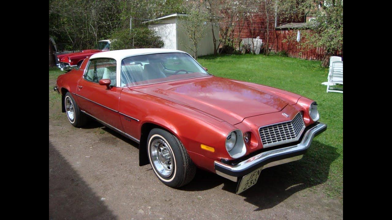 Camaro LT 1976 - YouTube