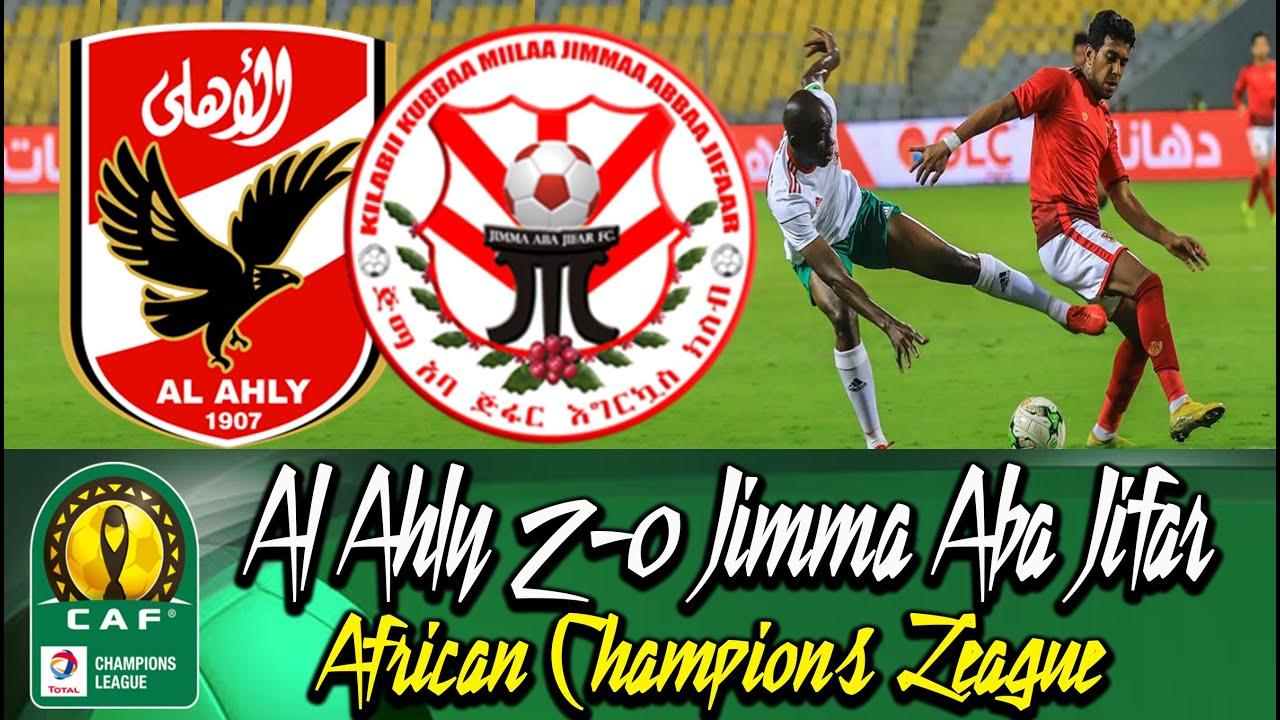 Alahly 2-0 Jimma Aba Jifar #CAF Champions League 2018/19