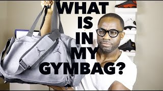 WHAT'S IN MY GYM BAG?!?!?