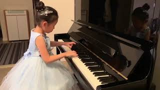 Renee Fang (6 years old) Kuhlau, Sonatina in C, Op.55 No.1, 2nd movement Vivace