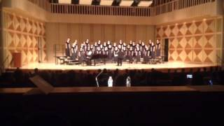 Alta Sierra Chamber Choir Singing Bel Canto