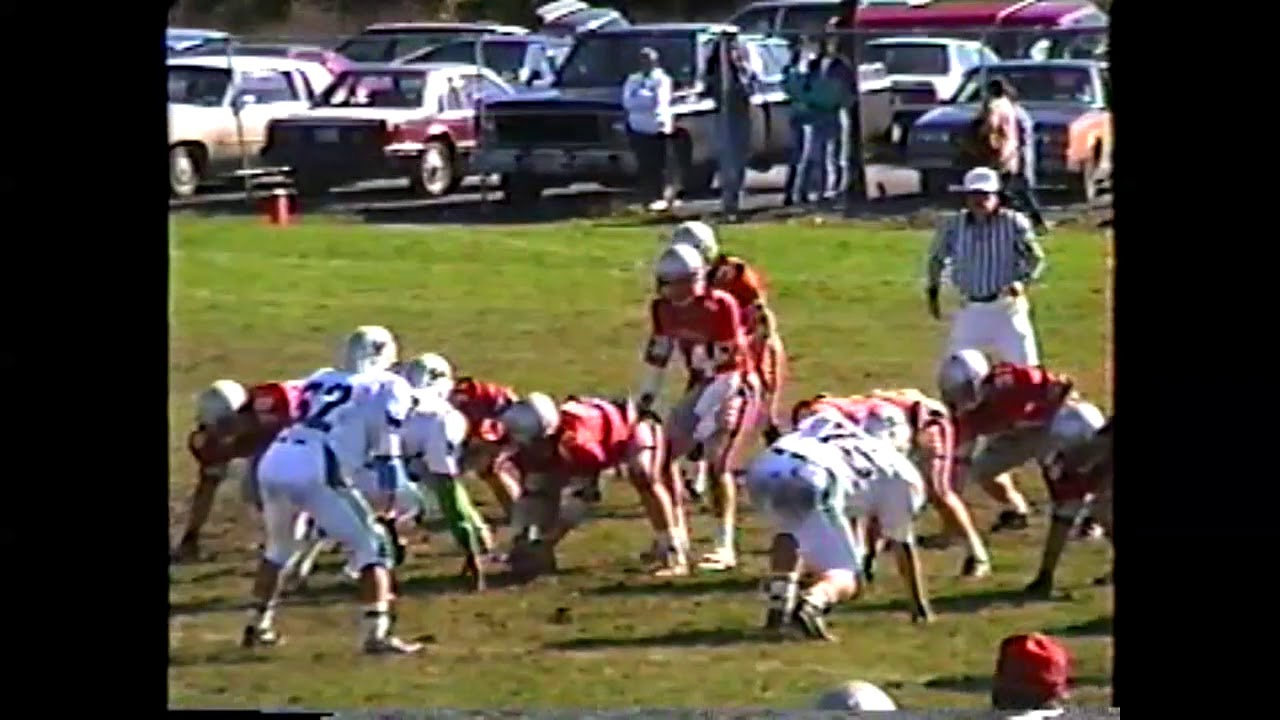 NCC - Beekmantown - Seton Catholic Football  10-20-90