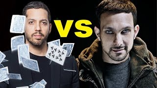 Dynamo vs David Blaine - Top 10 Amazing Magic Tricks!
