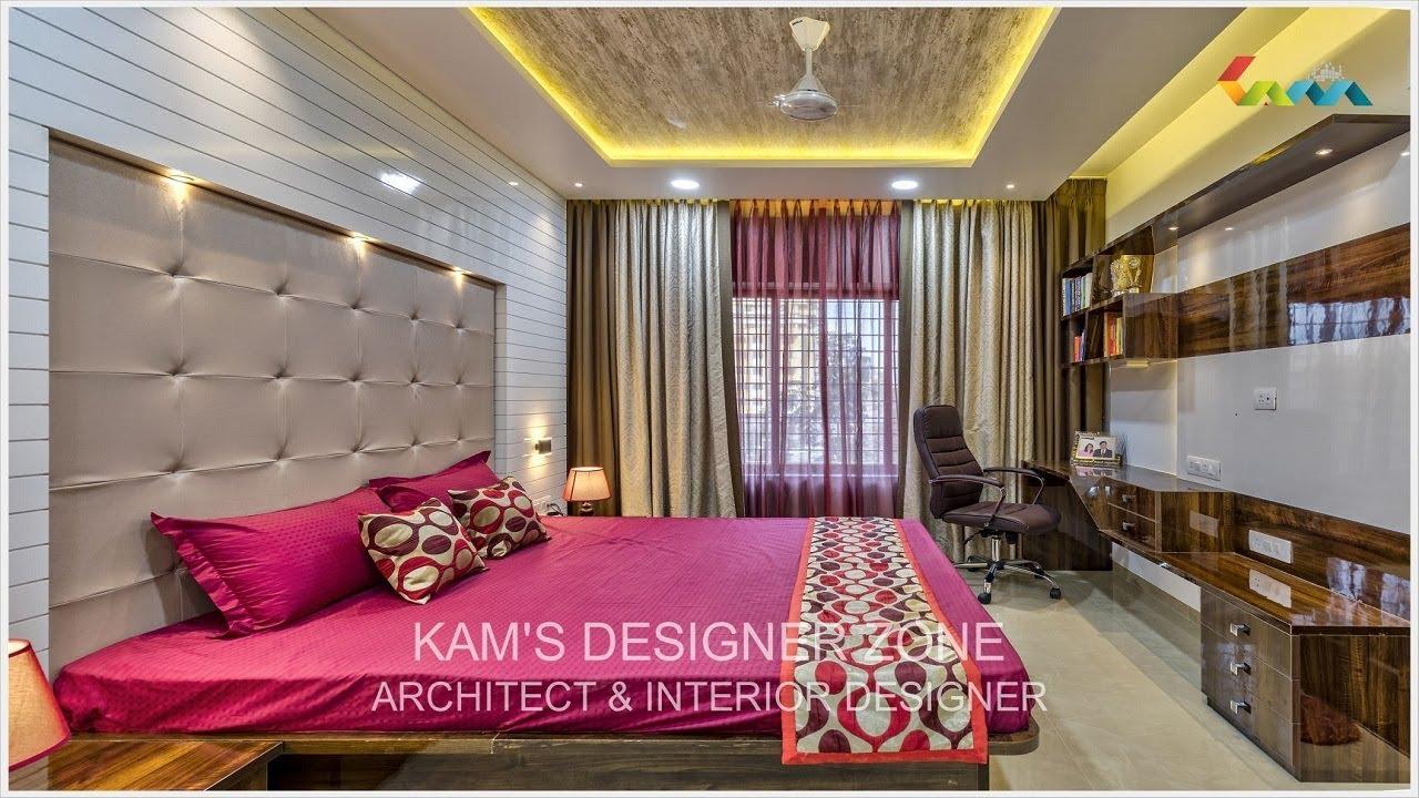 3 Bhk Flat Interior Design In Pune Vishrantwadi Kams Designer Zone Youtube