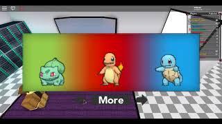 Roblox Pokemon Adventure ep 1 partie 1